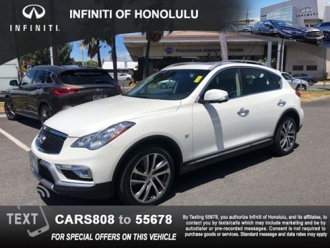 Certified Pre-Owned 2017 INFINITI QX50 Base RWD 4D Sport Utility